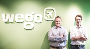Wego co-founders Craig Hewett (L) and Ross Veitch (R)