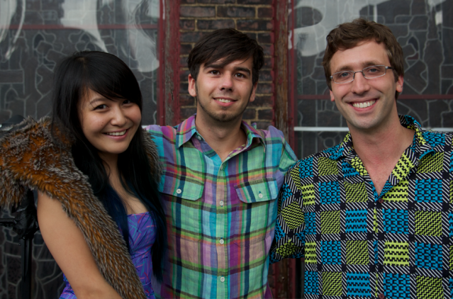 Dolo Team (From Left): Sophie Xie, Jason Prado, Ryan Williams
