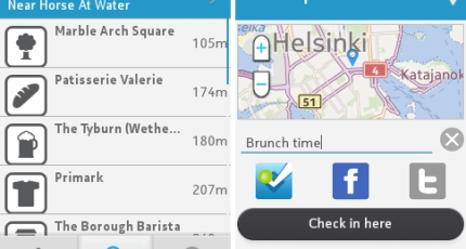 Foursquare Checks In With Feature Phones: A New App For