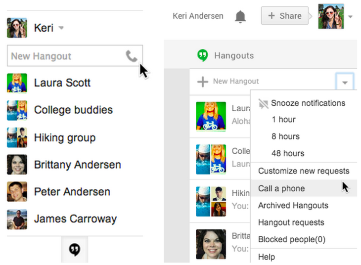 Google Finally Brings Voice Calling To Hangouts, But Not To