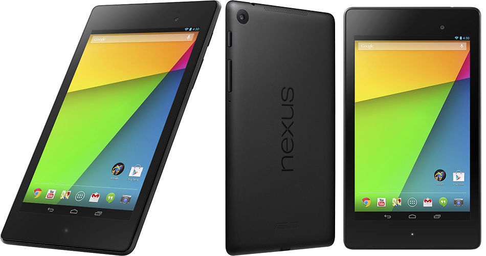 Google Unveils The New Nexus 7 Android Tablet, An iPad Mini Rival With A Super Screen Available ...
