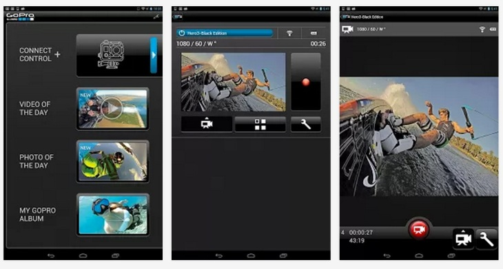 GoPro's Action Cameras Get More Social With iOS, Android App