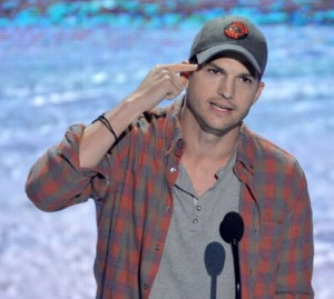 Ashton Kutcher Teen Choice Awards