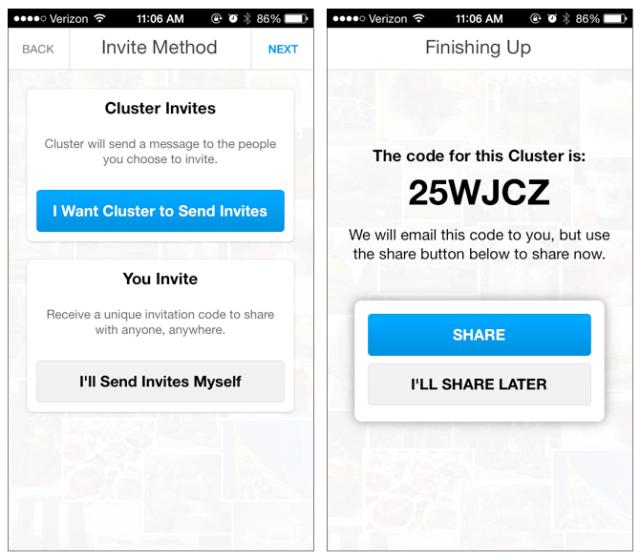 cluster-invites