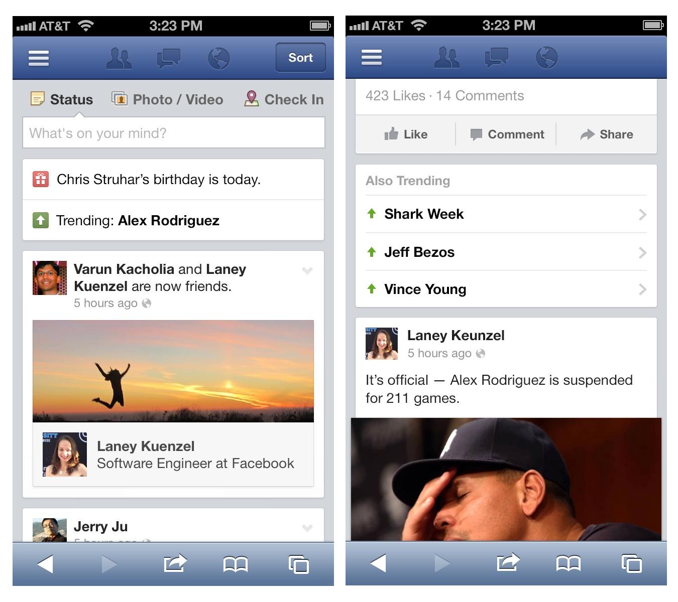 Facebook Begins Trending Topics