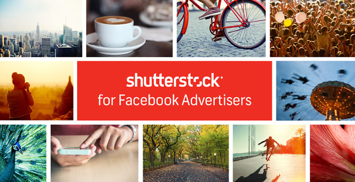 facebook makes ads prettier with shutterstock partnership to offer
