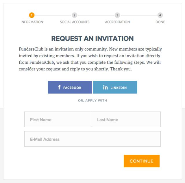 FundersClub Invitation