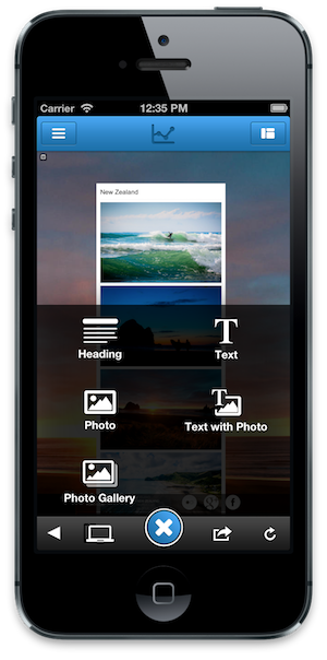 website editor jimdo launches an ios app so users can build and edit