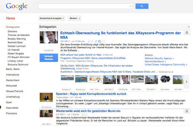 Google News Germany