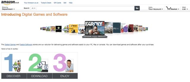 Amazon UK downloads
