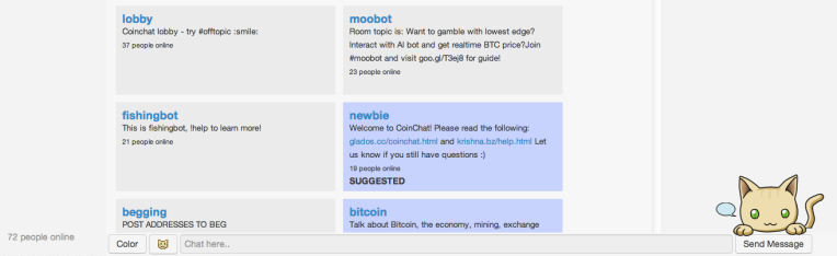 bitcoin chat
