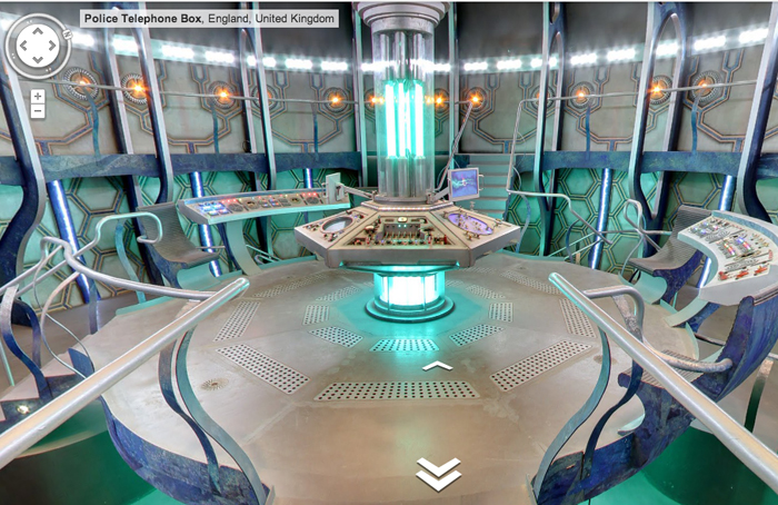 Google Maps Easter Egg Lets You Explore The TARDIS | TechCrunch