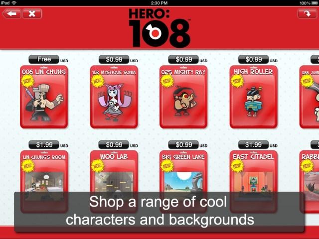 toon hero store