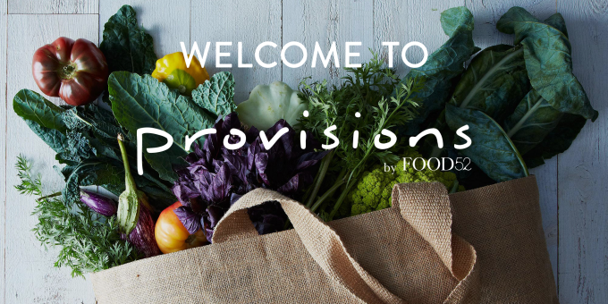 Welcome to Provisions