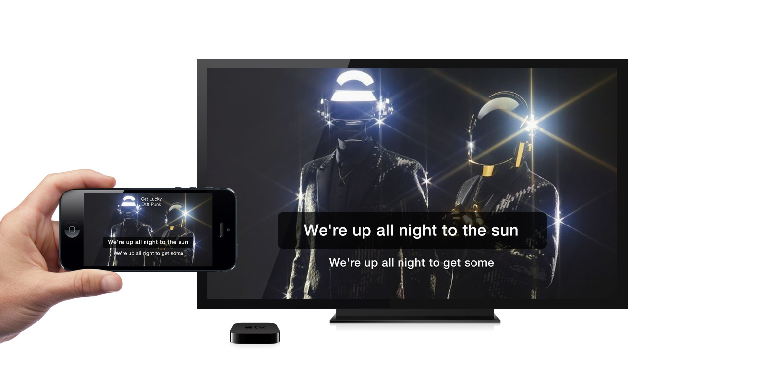 ... Of Its Song Lyrics Apps U2014 Available For IOS, Android, WP8, Desktop Mac,  W8 And Spotify U2014 MusiXmatch Is Making Its First Foray Into The Living Room.