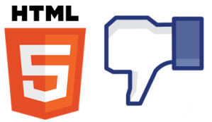 Facebook No HTML5