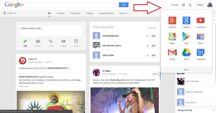 "Google's New ""App Launcher"" Style Navigational Menu Arrives"