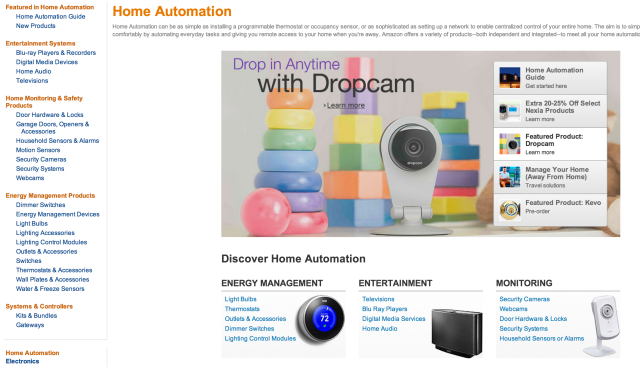 Home Automation at Amazon