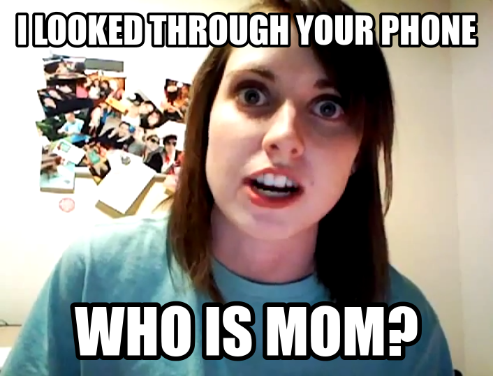image your nosy boy girlfriend can unlock your iphone 5s with your thumb