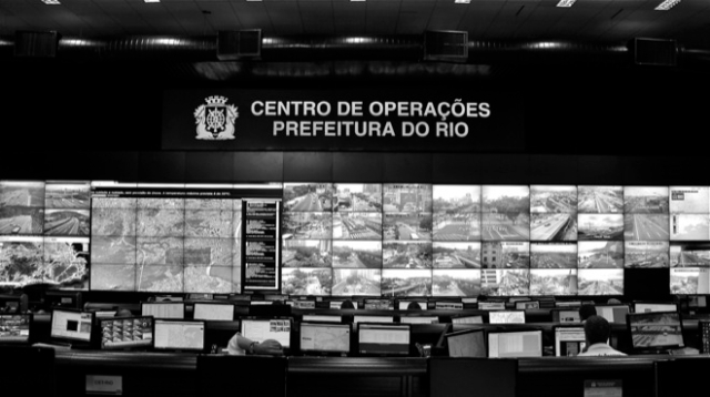 Rio's IBM-powered Operations Center houses the biggest surveillance screen in Latin America.