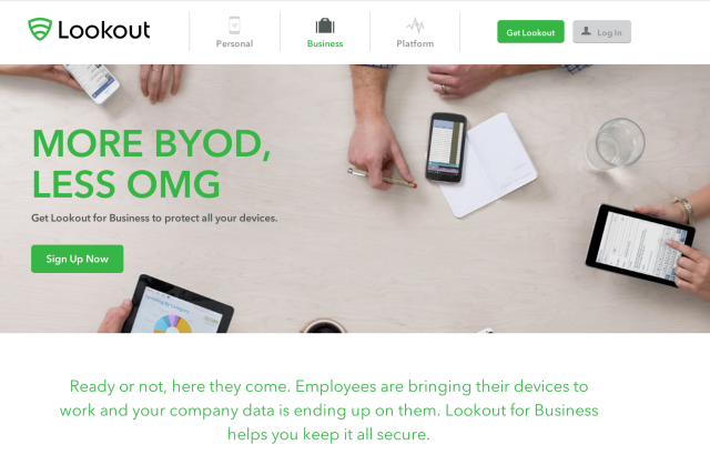 Mobile Security for Business | Lookout