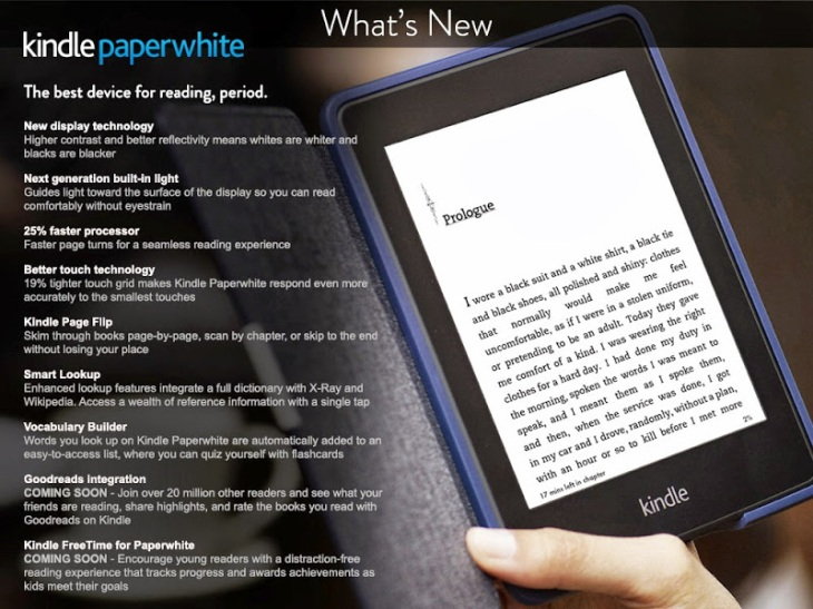 Amazon's Next Kindle Paperwhite Leaks Early, Now Available