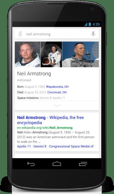 Nexus 4 - Neil Armstrong