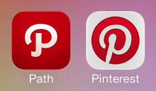 Pinterest And Path To Battle Over Letter P Logo Trademark