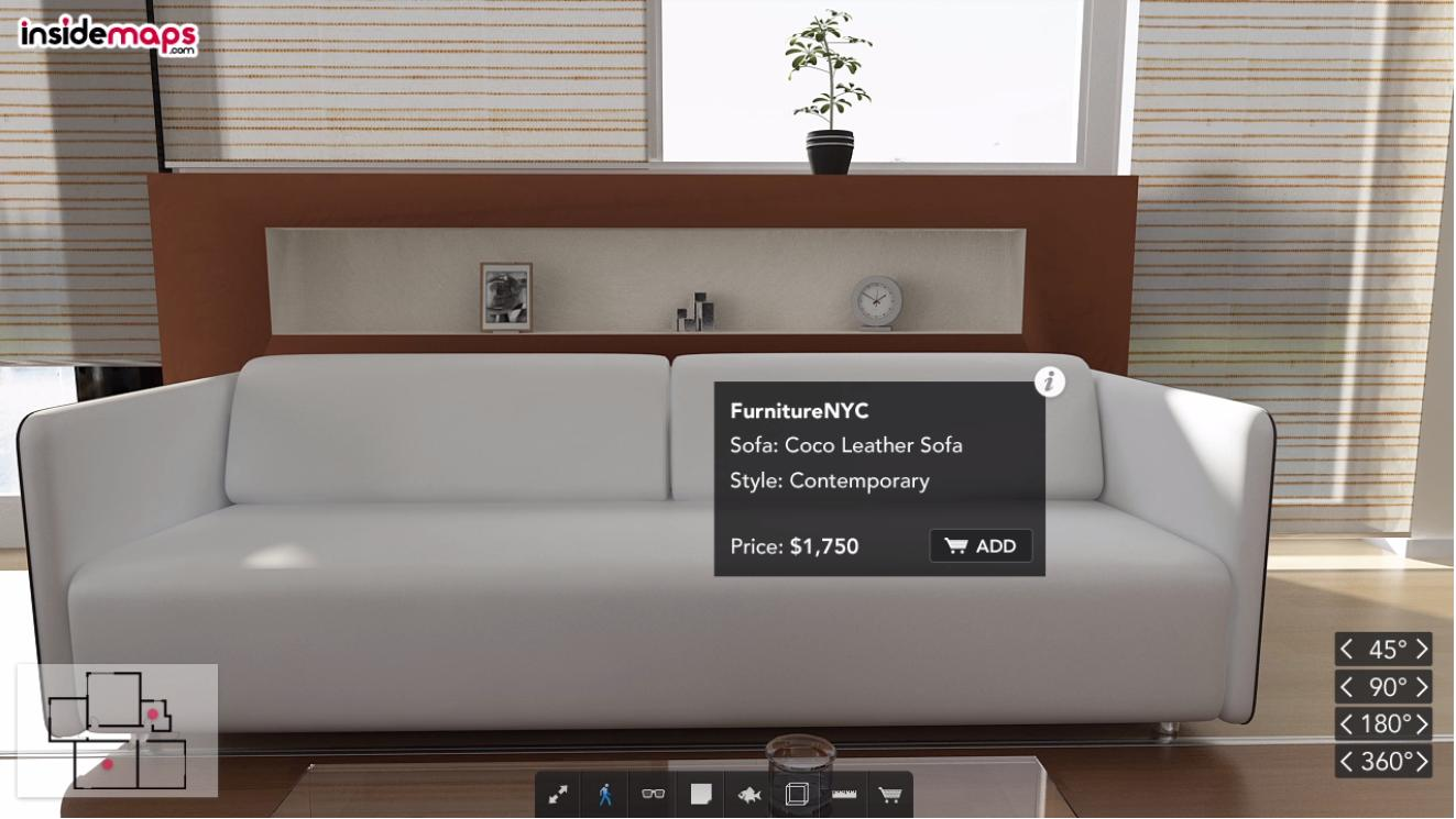 InsideMaps Uses 3D Home Models Captured In Minutes To Build The ...