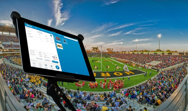 Revel Goes Big With Full Stadium Deployment Of iPad Point-Of
