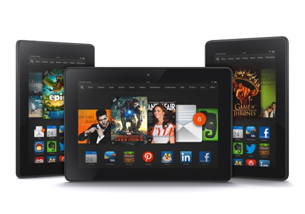 Amazon Announces The Kindle HDX 7- And 8 9-Inch Tablets With High