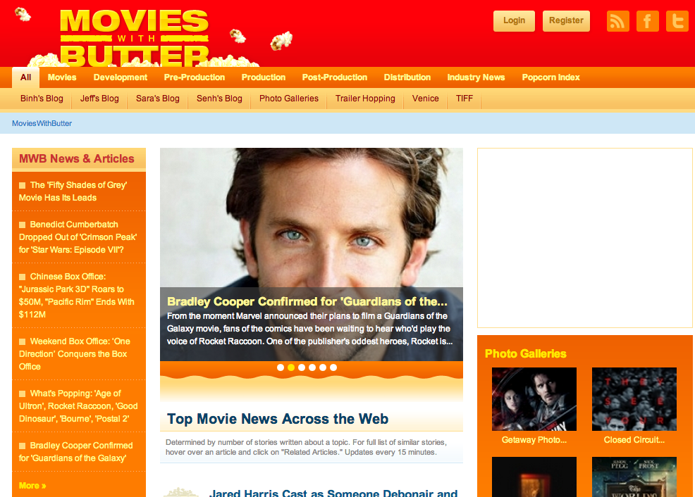 "Rotten Tomatoes Founder Positions New Site To Be ""Google News For"