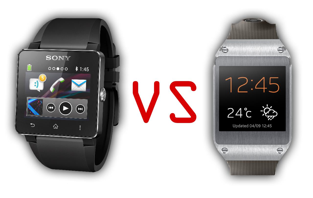 Sony S Smartwatch 2 Versus Samsung S Galaxy Gear Two Very