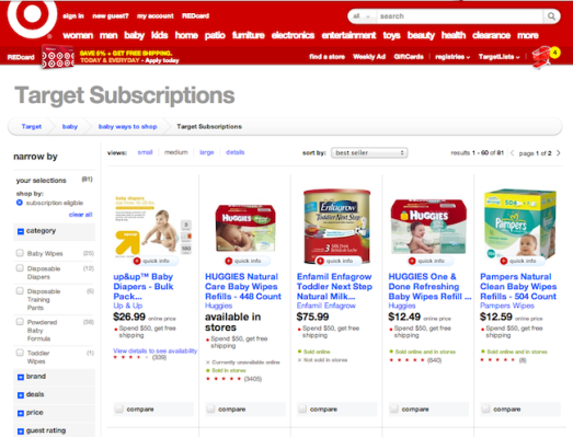 Target Launches Its First Subscription Based E Commerce