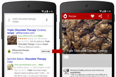 Google's Search Results Can Deep-Link To Your Android Apps