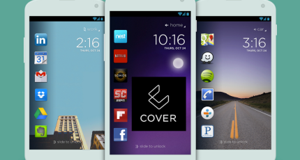Cover Is An Android-Only Lockscreen That Shows Apps When You