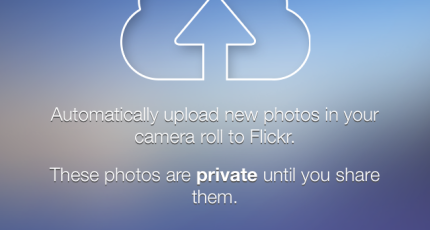 Flickr's iOS App Finally Gets Auto Upload, Lets You Take