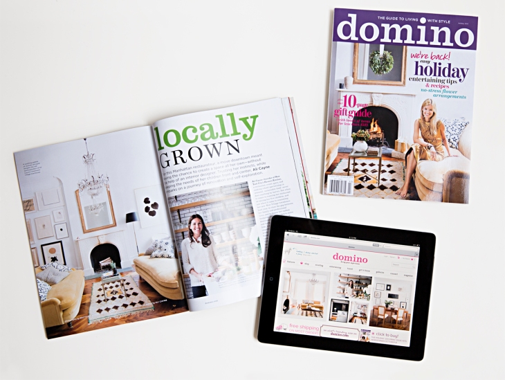 Domino Magazine Re Launches As A Digital Shoppable