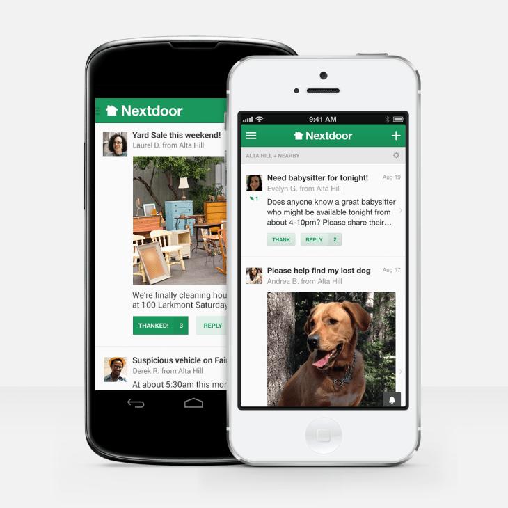 nextdoor app for android