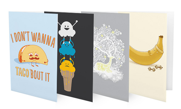 Threadless gets into the greeting card game with strategic for more than a decade threadless has been the place to go to get interesting t shirts and other apparel all of which have been submitted and vetted by m4hsunfo