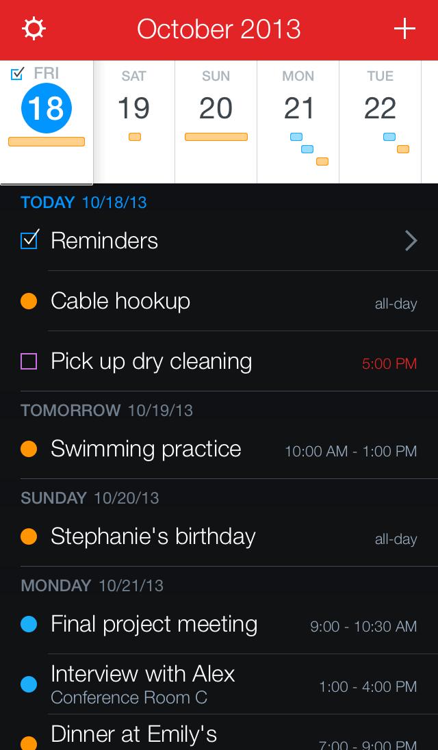 Fantastical 2 Brings Deep Reminders Support, Revamped iOS 7
