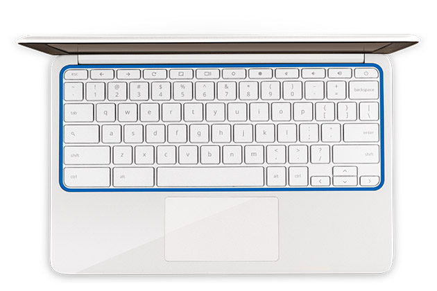 top-down-keyboard-blue