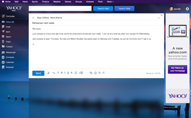 Yahoo Mail Desktop - Compose
