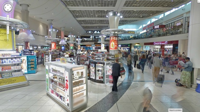 Google Takes Street View Inside Gatwick Airport, Its Largest