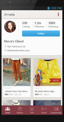 Poshmark brings mobile marketplace for women to sell and for Apps similar to poshmark
