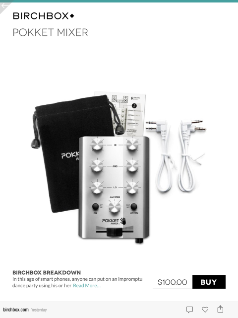 Birchbox Product Page