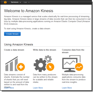 Amazon Kinesis, A New AWS Service To Process Real-Time Streams