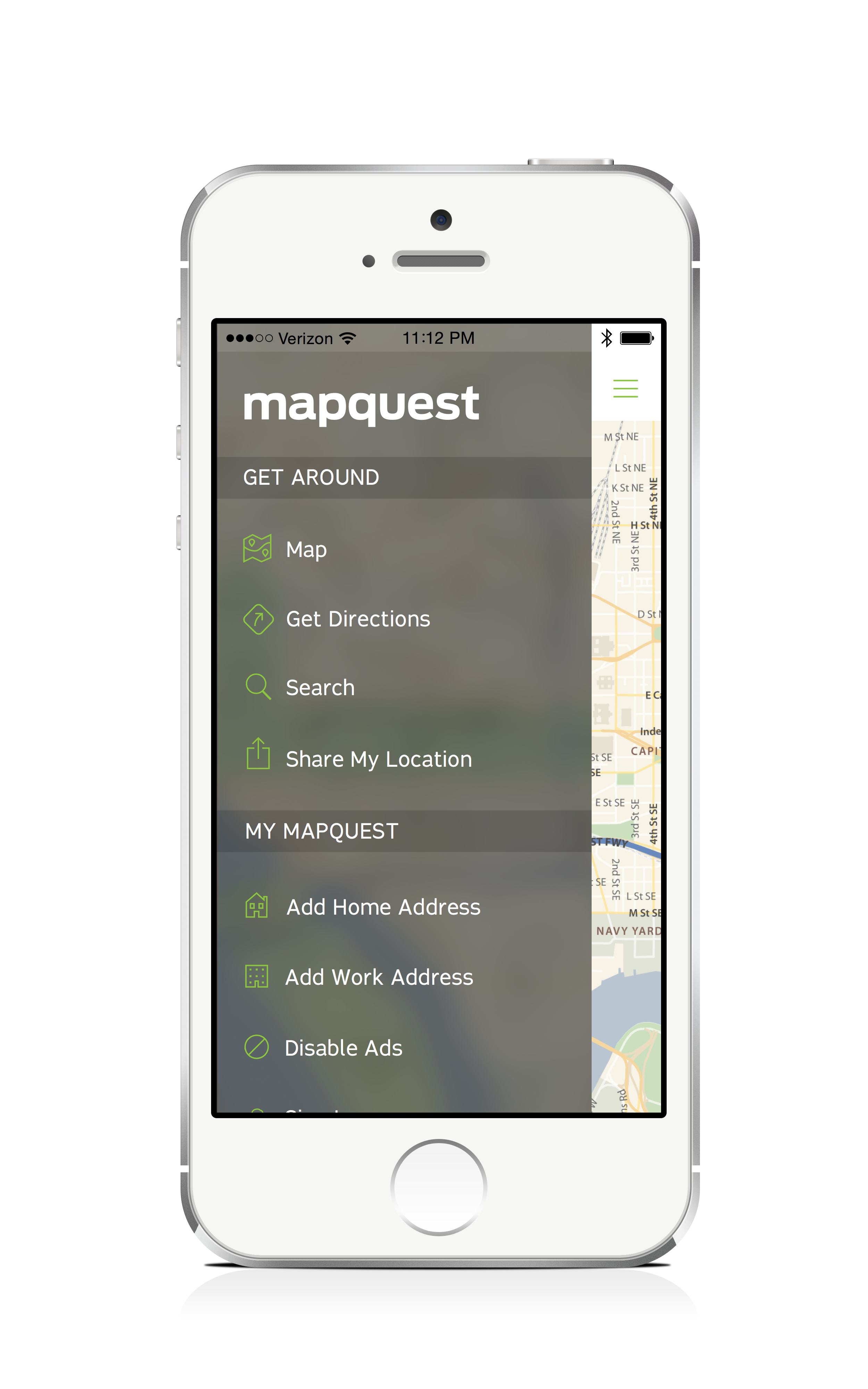 MapQuest Updates Its iPhone App With Improved Cartography And