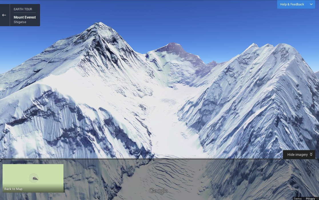Mt Everest - Google Maps
