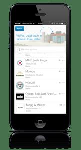 PayPal_Check-In_App_Übersicht_Läden